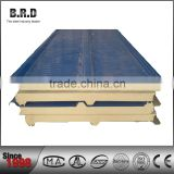 Core insulation PU FOAM board laminated with sandwich panel plate iron sheet galvanized treatment