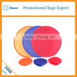 Advertising sport flying toy gift Custom design Wholesale dog o soar fodable frisbee fan                                                                         Quality Choice