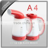A4 Red multi-functional portable facial steamer ,vertical steam iron,mini steamer                                                                         Quality Choice