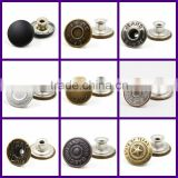 Stylish Hot Sale custom press decorative snap fasteners