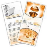 high quality glossy advertising flyers printing/leaflets printing, handbills printing with low price