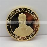 Custom Made Gold Plated Souvenir Coin