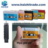 Christmas gift mp3 player mini tape mp3 player with memory sd card slot support 2gb, 4gb, 8gb, 16gb tape mp3 gift mp3 player