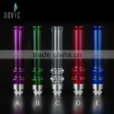 Beautiful design factory price colorful glass drip tips for sale