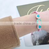 Simple Children Cheap Bracelet Jewelry Colorful Bracelet Nnisex Trendy alloy Heart Bracelet/