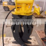 31-40 ton excavator hydraulic grapple for stone, wood, metal, grapple