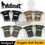 WoSporT goggles rail buckle accessories for airsoft military tactical fast CS game helmet
