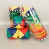 cheap mini PVC/PU customize high quality hacky sack juggling ball promotion gift for kids play sand filled balls