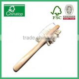 Wooden Bath & Shower Brush Long Handle, Back Massager, Anti cellulite massage brush WMB001