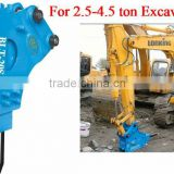 Supplying BLTB53 Side Type mining jack hammer of excavator spare parts at reasonable price