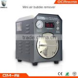 OCAmaster Mini Size OCA Film Air Bubble Remover Machine OM-A1 For Broken LCD Refurbishing