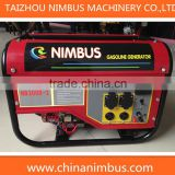 2.5kw power generator for sale philippines air-cooled gasoline generator set portable gasoline generator