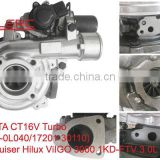 1KD TOYOTA Turbo Turbocharger Landcruiser Hilux ViIGO TURBO 17201-0L040