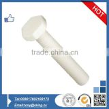 Plastic hex head bolt