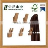 2015 year china factory suppliers selling FSC&SA8000 fancy home used wall hanging wooden clothes hooks for high quality