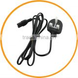 UK Figure 8 AC Power Supply Cable Adapter Cord for Laptop Digital Camera from dailyetech