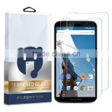 Touch screen Bubble free Glass screen film For Google Nexus 6 tempred glass screen protector