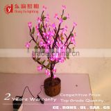 indian wedding decoration led light flower pot bonsai pot led light trees for indoor pot