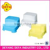 Popular safety and anti-slip plastic bathroom step stool nonslip toilet stool