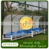 Five star manufacturer solid soccer substitute bench
