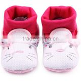 Cute cotton anti-slip baby infant sock shoe