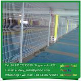 Hot sale powder coated galvanized fence 3D models decorative wire fence