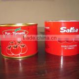 China Canned Tomato Paste Size 70g -4500g Tomato Paste Factory