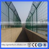 Guangzhou Y Post Airport Security Barbed Wire Fencing/Razor Wire Fencing(Guangzhou Factory)