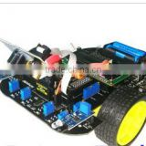 SC51C microcontroller development board to learn microcontroller 51 single car tracking car obstacle avoidance