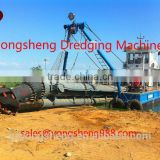 sea sand & river sand dredging machine in China