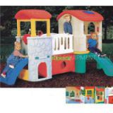 Kids Childrens Wooden Plastic Outdoor Indoor Playhouse