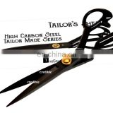 "High Quality black handle tailor scissors/8""/9""/10""/12"""