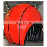 customized inflatable basketball shaped tent for outdoor