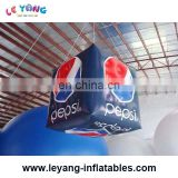 Hot selling outdoor giant advertising inflatable cube balloon with brand logo print