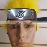 JAPAN COSPLAY NINJA WARRIOR BLACK NARUTO HEADBAND