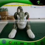 New Custom Inflatable Snow Leopard, Inflatable Cartoon Toys and Animals Figure Model for Sale