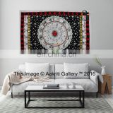 Astro Tapestry White Color Indian pure cotton Single hippie wall handmade tapestry for sale