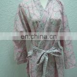 Chinavictor Wholesale 100% Cotton Women Adult Free Size Japan Bathrobes