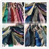High quality low price men used neckwear fashion silk ties used clothes