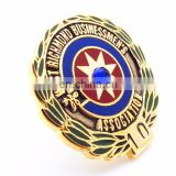 INQUIRY about Europe Regional Feature HARD ENAMEL RHINESTONES LAPEL PIN BADGE