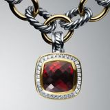 Fashion Jewelry 11mm Garnet Albion Enhancer(P-006)