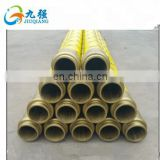 Factory direct custom size ash pipe bulk cement tanker special thick wear-resistant rubber hose