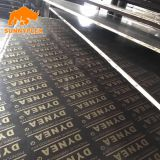 construction use 4*8 film faced shuttering plywood with logo