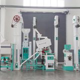 25ton/day paddy rice milling machine plant