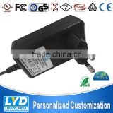 Global leading Brand high efficency 86% 24v 1.2a ac dc power adapter CE 61347 GS 61347 UL class 2