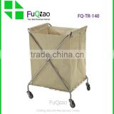 Restaurant And Hotel Equipment Linen trolley , hotel service trolley , cleaning service trolley