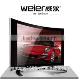 China factory cheap price curved glass hot square lcd tv 12 volt                                                                         Quality Choice