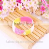 China manufacturer cheap christian silicone bracelets