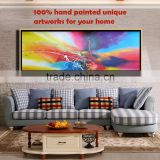 Heavy Texture 5 star hotel decor new craft pictures wall painting canvas abstract painting