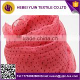 printed Polyester spun voile fabric for making scarf/high end polyester cotton like scarf fabric